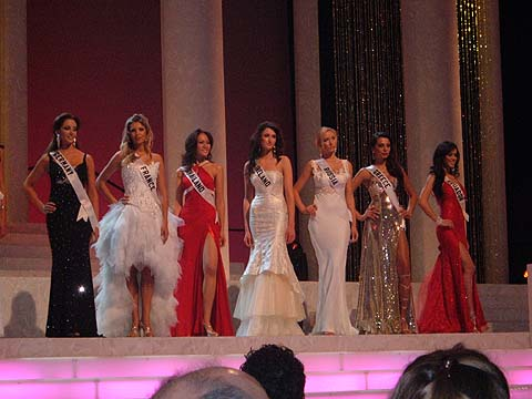 Miss Universe 2011 contestants in evening gown - International